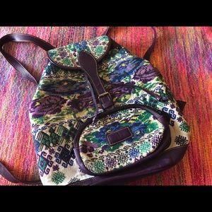 Super rare dc Guatemala huipil backpack